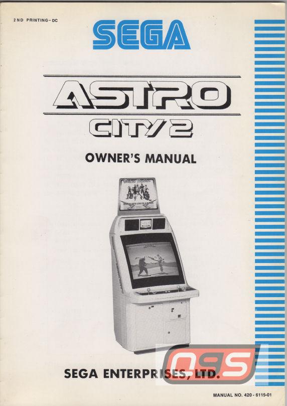 astro city manual